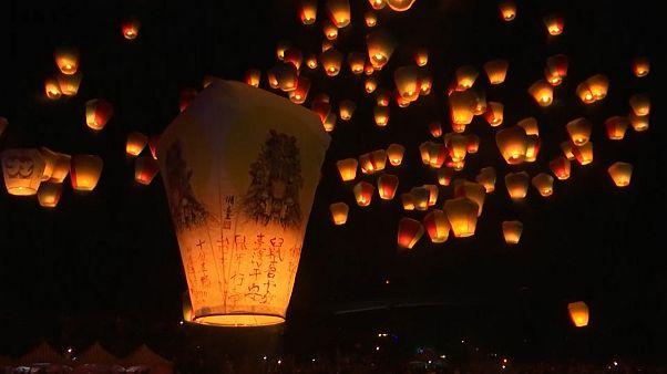 Neu-Taipeh: Laternenfestival markiert das Jahr der Ratte