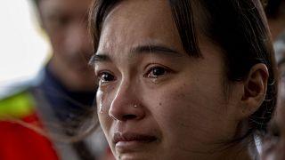 بستگان قربانیان تیراندازی در تایلند