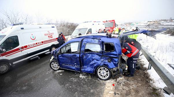 Türkiye'de her 2 dakikada 1 kişi trafik kazasında yaralanıyor