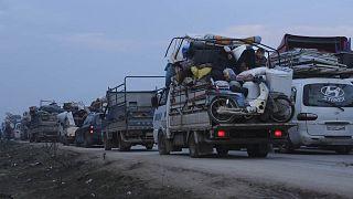 600.000 Syrer auf der Flucht - Militär will Offensive fortsetzen