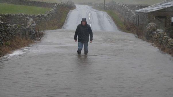 Storm Ciara wreaks havoc across Ireland and Britain