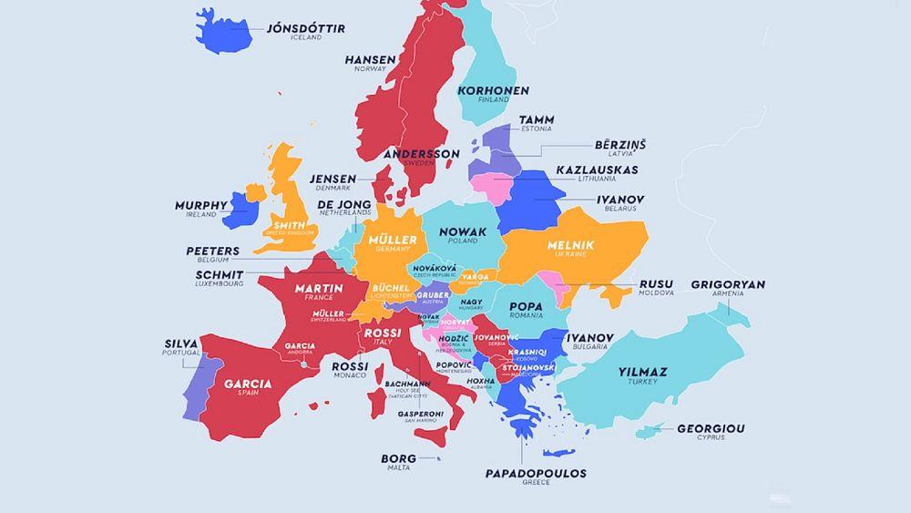 Türkiye'deki en yaygın soyadı Yılmaz, peki dünyadaki en popüler soyisimler neler?