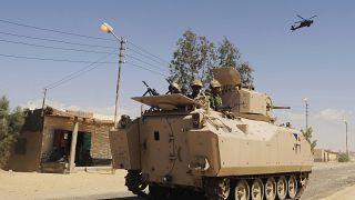 عناصر الجيش المصري في سيناء