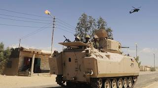 Egyptian Army Reports the Death of 40 Jihadists in the Sinai Region
