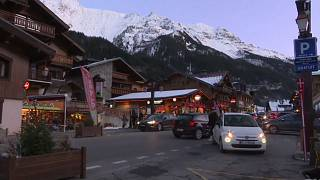 Siete británicos infectados con coronavirus en un chalet de los Alpes franceses