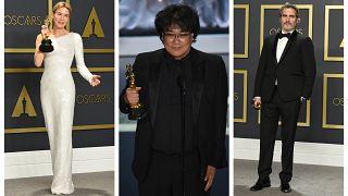 Όσκαρ: Σάρωσαν τα «Παράσιτα» - Βραβείο για Μπραντ Πιτ,Φίνιξ, Ζελβέγκερ