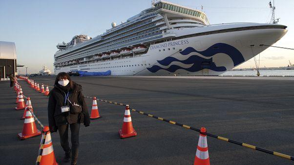 Karantinaya alınan yolcu gemisi