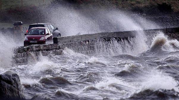 طوفان سیارا در شمال ایرلند