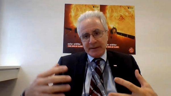 ESA-Flugbetriebsleiter Paolo Ferri im Gespräch mit Euronews