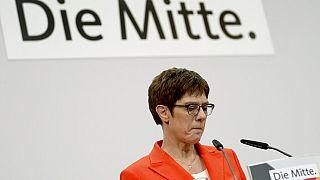 CDU-Chefin Krampf-Karrenbauers Rückhalt war seit der Thüringen Wahl geschrumpft.