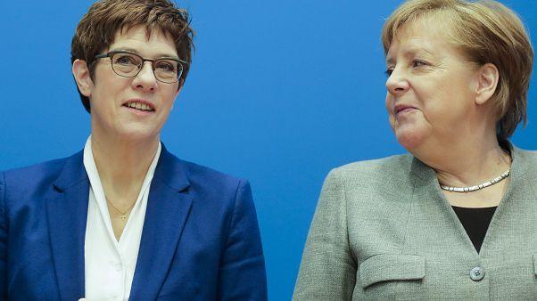 Allemagne : AKK abandonne et laisse la CDU orpheline de dirigeant