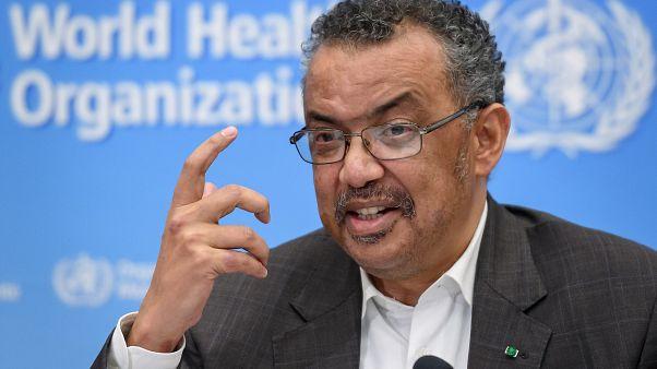 تيدروس أدهانوم غيبريسوس، المدير العام لمنظمة الصحة العالمية