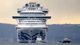 Koronavírus: Újabb 60 utas fertőződött meg a Diamond Princessen