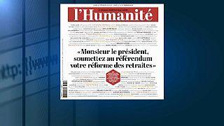 In Francia provano a fare un referendum contro riforma pensioni