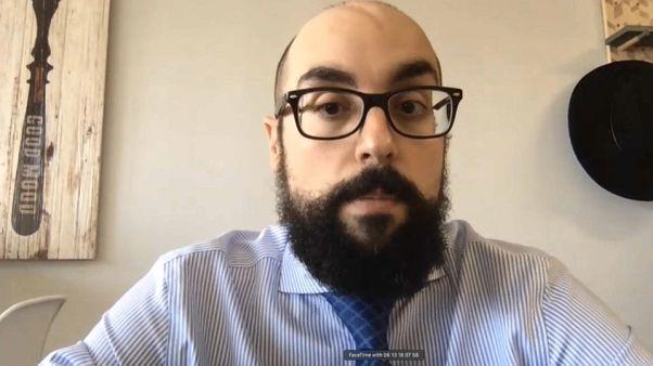 Roberto Gelado, Profesor de Narrativa Audiovisual durante la entrevista