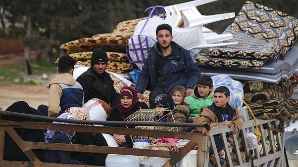 سازمان ملل: نزدیک به ۷۰۰ هزار نفر از درگیریهای شمال غرب سوریه گریختند