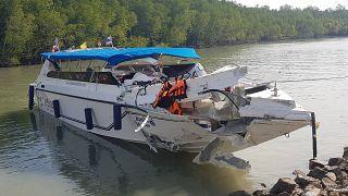 Два ребенка из России погибли в результате столкновения катеров в Таиланде