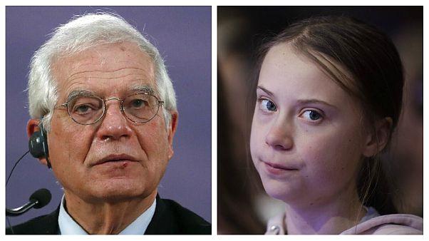 سخنان بورل درباره «سندرم گرتا»؛ کمیسیون اروپا عذرخواهی کرد