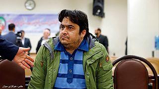 روحالله زم در دادگاه