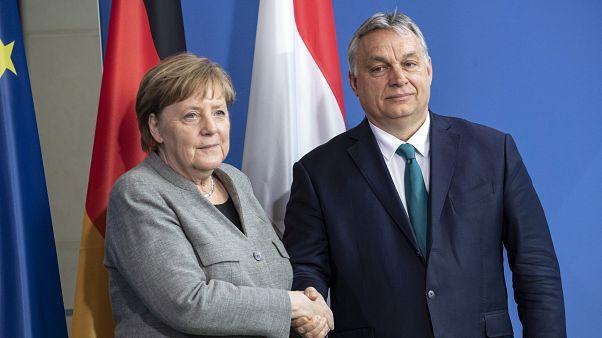 """Merkel: Németország """"nagyon jól megérti"""" Magyarország gondjait"""
