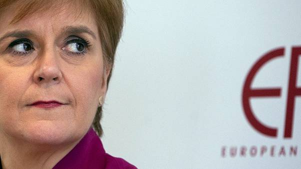 Sturgeon insiste en una Escocia independiente dentro de la Unión Europea