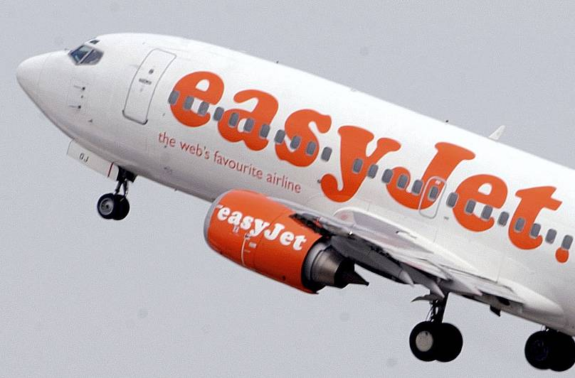 The British businessman with the virus is believed to have flown home from France via Geneva on an easy Jet flightAP