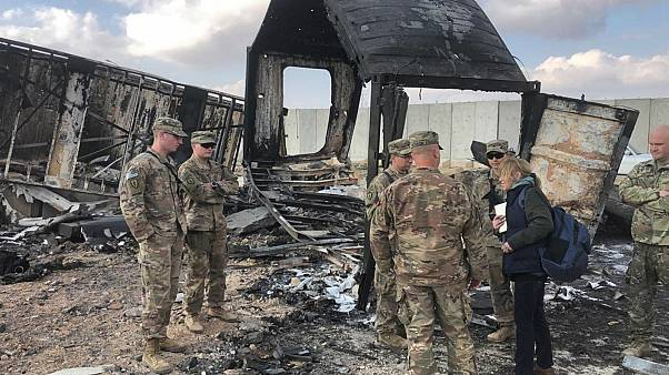 آخرُ حصيلة للقصف الإيراني على عين الأسد.. عدد المصابين تجاوز الـ100 جندي أمريكي