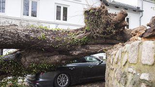 La tormenta Ciara barre el centro y el norte de Europa dejando siete muertos