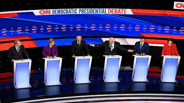 مرشحو الحزب الديمقراطي الأمريكي للانتخابات الرئاسية 2020