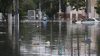 Brésil : fortes pluies et coulées de boue dans la région de São Paulo