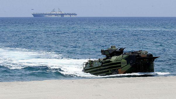 فیلیپین یک پیمان مهم امنیتی با آمریکا را لغو میکند