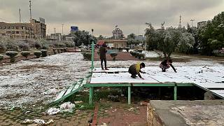 Xιόνισε στην Βαγδάτη