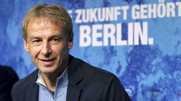 Klinsmann 10 hét után távozott a Herthától