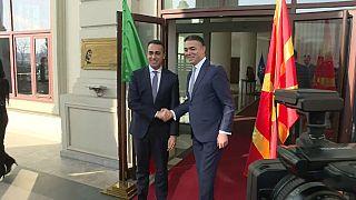 """Di Maio: """"Italia vuole Skopje nella UE"""""""