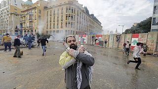 Kormányellenes tüntetések Libanonban