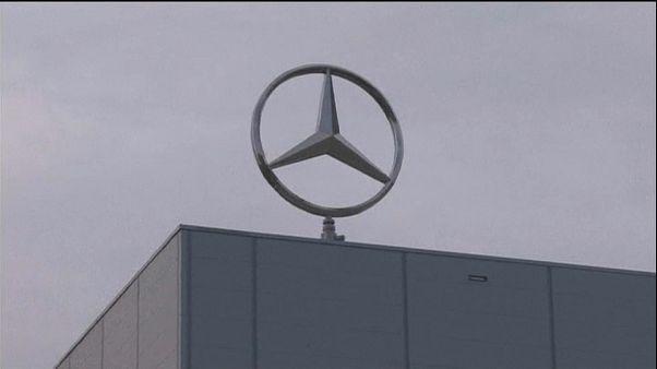 Importante descenso de los beneficios de Daimler