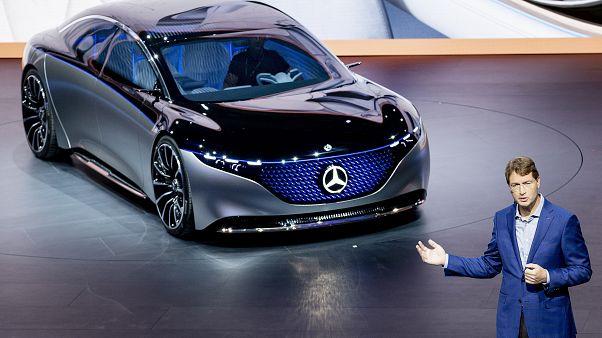 Руководитель Daimler Ола Каллениус на презентации в сентябре 2019 года.