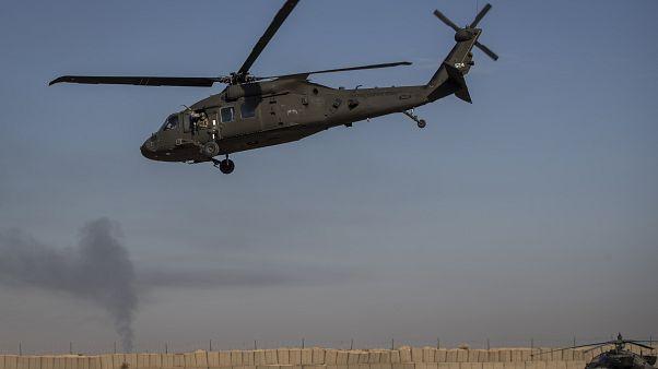 Milli Savunma Bakanlığı: İdlib'de Esed rejimine ait bir helikopterin düşürüldüğü öğrenildi