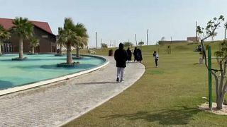 Egymillió négyzetméteres parkot épített Katar a sivatagba