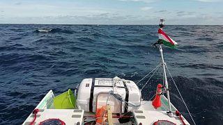 Az Atlanti-óceán a SUP-ról nézve
