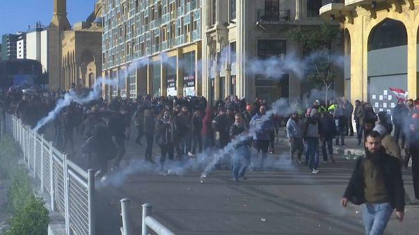 Protesta en Líbano