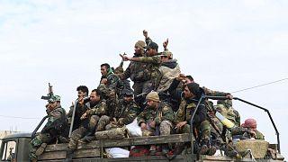 Suriye'de Esad güçleri M5 karayolunun kontrolünü ele geçirdi