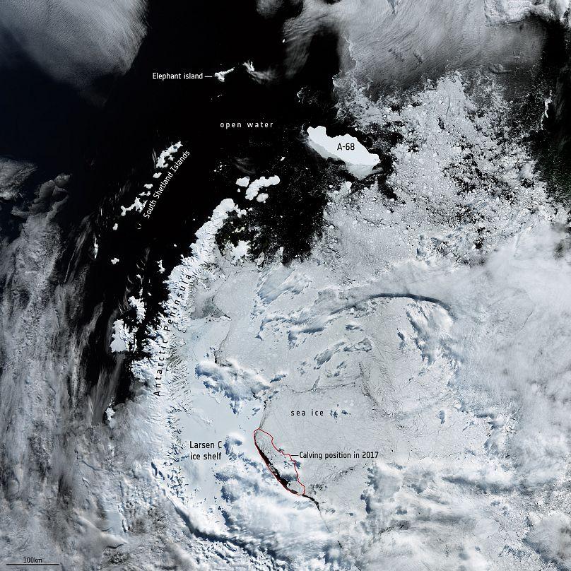 Agencia Espacial Europea / Observación Terrestre - Copernicus