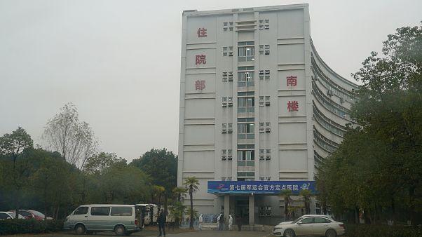 Un hospital de Wuhan, foco del virus