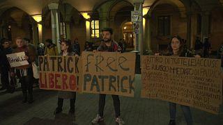 فيديو: مظاهرة في إيطاليا ضد احتجاز مصر لطالب بجامعة بولونيا