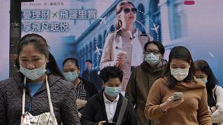 Csökken az újonnan diagnosztizált, koronavírussal fertőzött betegek száma Kínában
