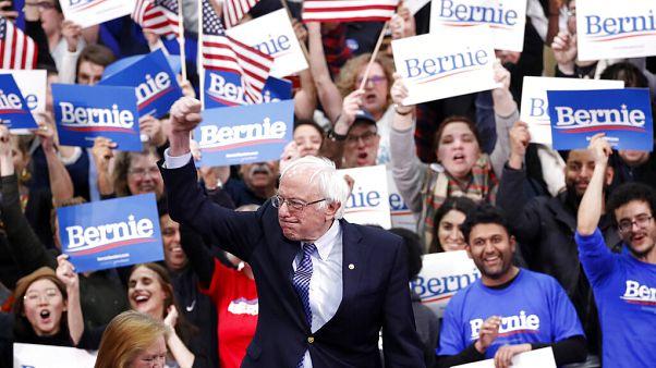 Sanders gana por los pelos en Nuevo Hampshire y Biden se derrumba