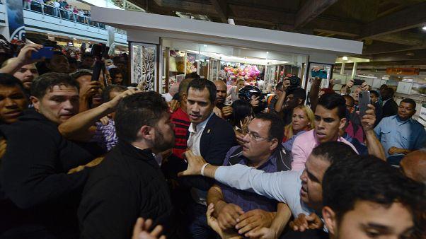 Juan Guaidó torna a casa