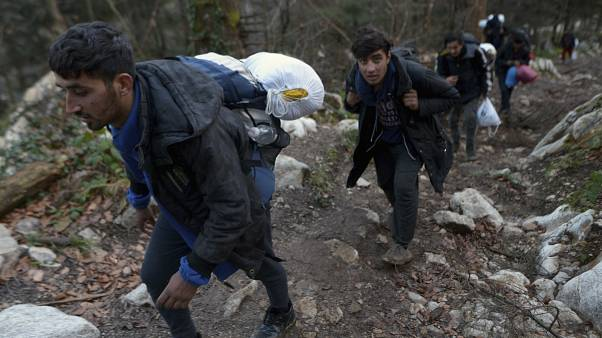 A luta dos migrantes às portas da Europa