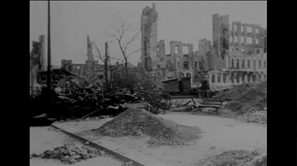 Dresden gedenkt der Bombenangriffe vor 75 Jahren